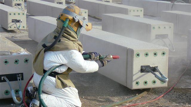 Abrasive blasting service for Sandblasting and painting