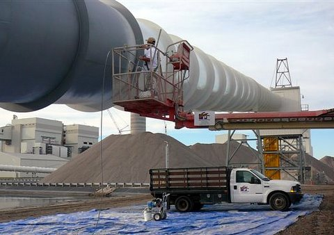 Industrial coating services for Industrial painting service